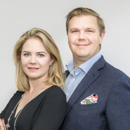 Gelpell Lohnhersteller Pharma Kristina und Tomas Edvinsson