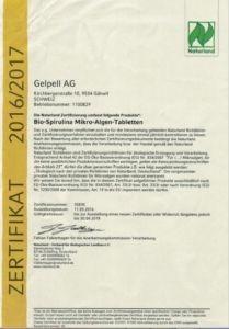 Naturland Bio Zertifizierung Gelpell