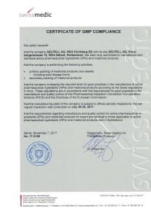 GMP Zertifizierung Gelpell